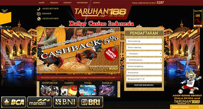 online casino in indonesia